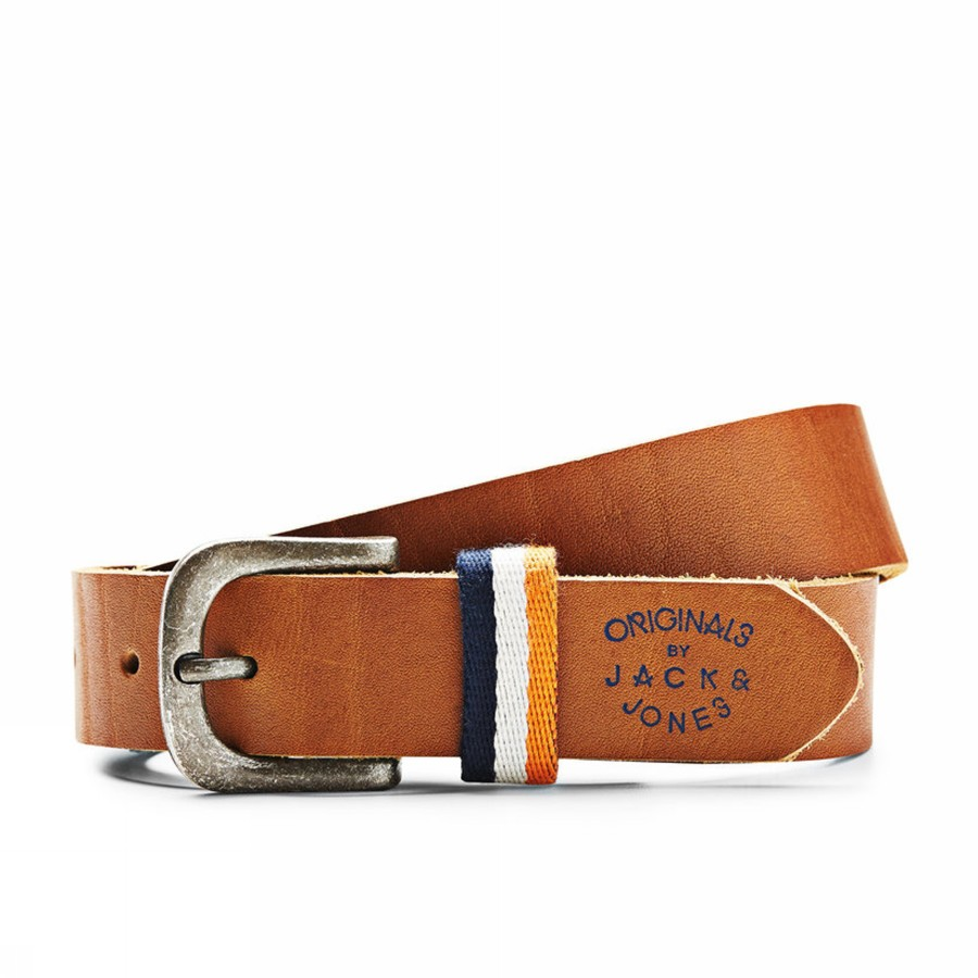 Foto EBEN LEATHER BELT JACK AND JONES