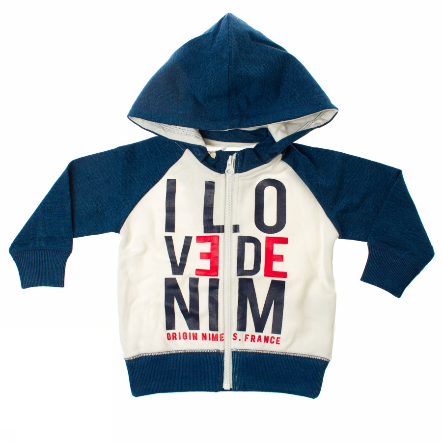 Foto JASP MINI LS SWEAT CARD HOOD NAME IT Activewear