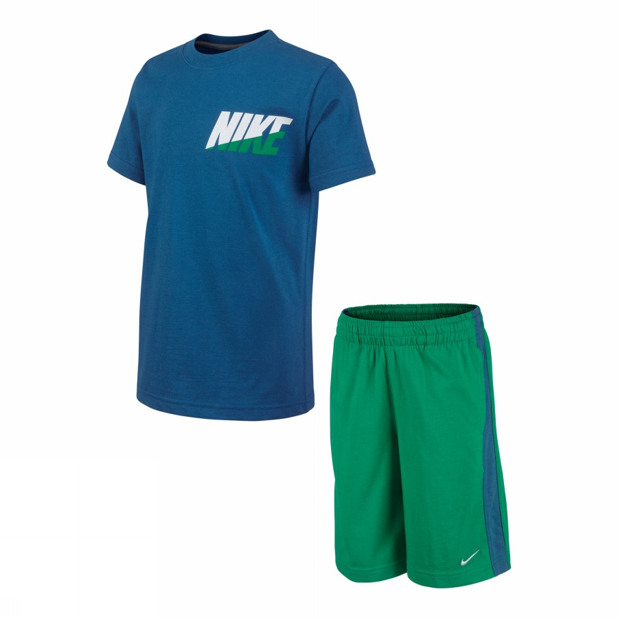 Foto MS KNIT SET SSTOP+SHORT LK NIKE Activewear