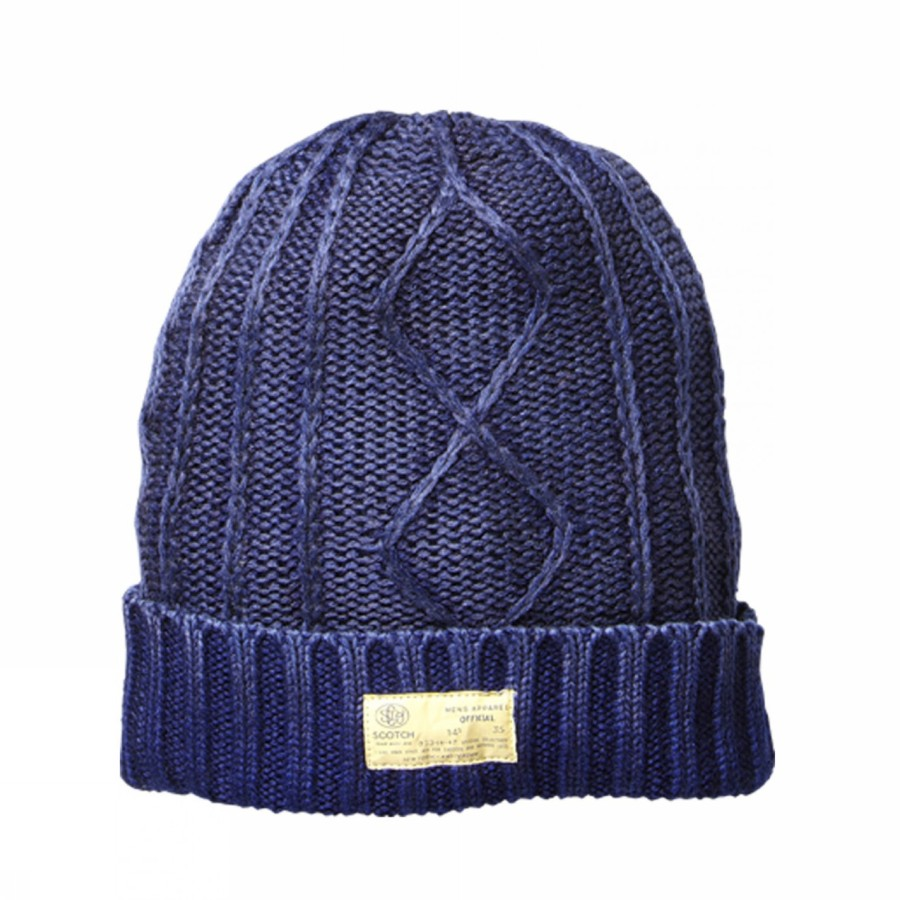 Foto CLASSIC CABLE KNITTED BONNET SCOTCH AND SODA B.V.