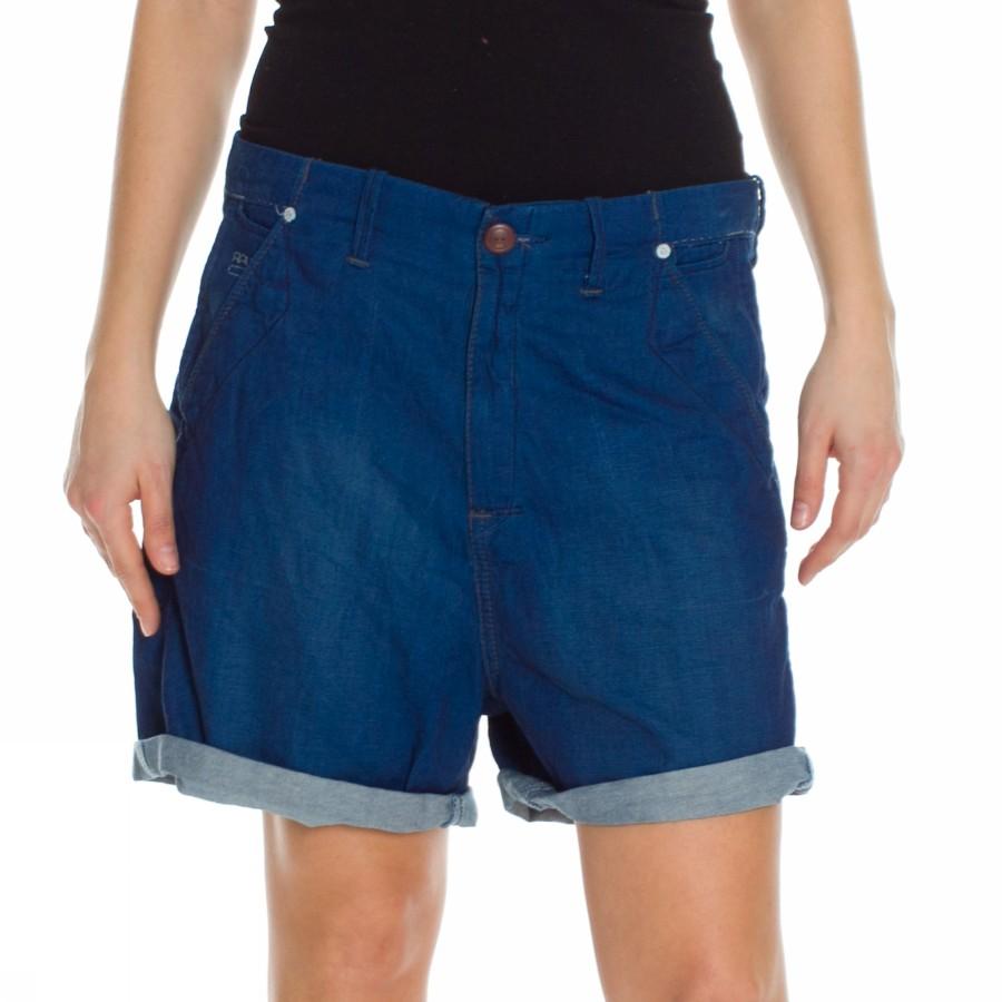 Foto PAGE NAVY LOW SHORT WMN G-STAR