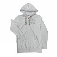 FLEECE FZ HOOD JKT CT BIG EYELETS