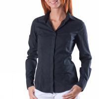 CAMICIA STRETCH NERA