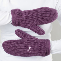 OVERSIZED KNIT MITTS