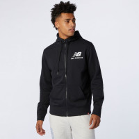 ESSENTIALS STACKED FULL ZIP HOODIE