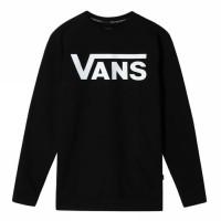 MN VANS CLASSIC CREW II BLACK/WHITE