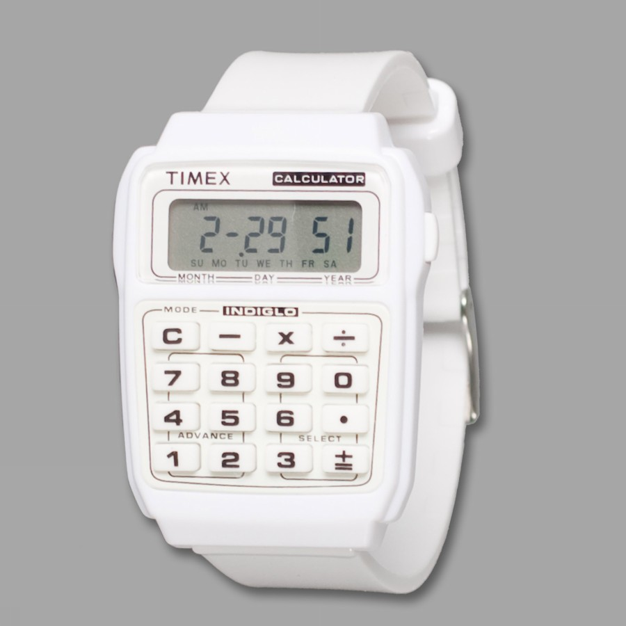 Foto CALCULATOR WHITE ARCHIE TIMEX Clothing Accessories